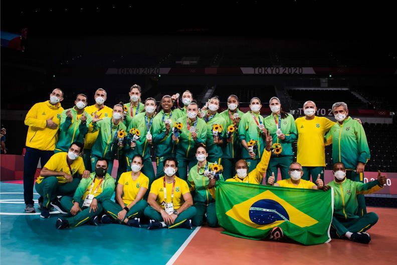 thumbnail do Álbum Tóquio 2020: Brasil fica com a prata (08/08/2021)