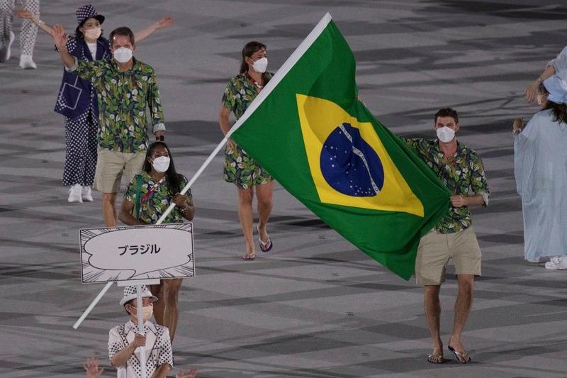 thumbnail do Álbum Olimpíada: Bruninho na Cerimônia de Abertura (23/07/2021)