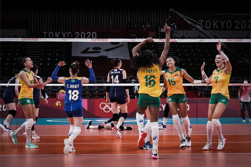thumbnail do Álbum Tóquio: Brasileiras vencem Coreia do Sul na primeira rodada (25/07/2021)