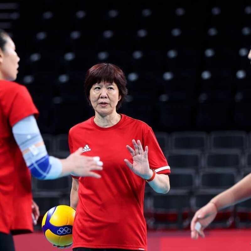 thumbnail do Álbum Seleção feminina da China treina em Tóquio