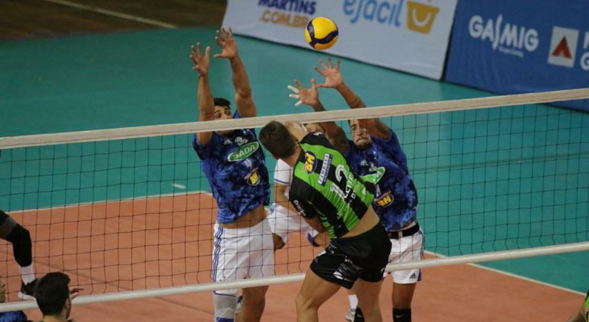 Capa da notícia - Estadual: Sada Cruzeiro com vitória na primeira rodada