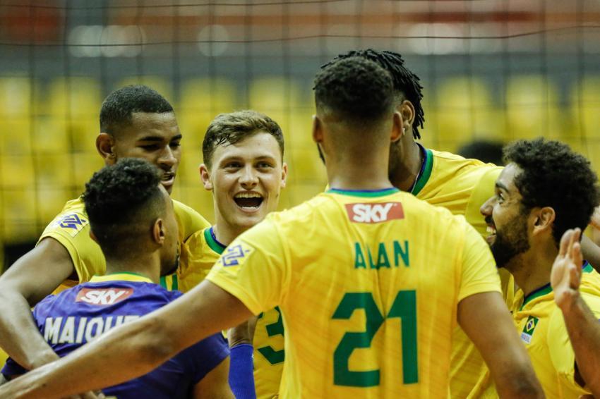 Capa da notícia - Sul-Americano: Brasil estreia com vitória