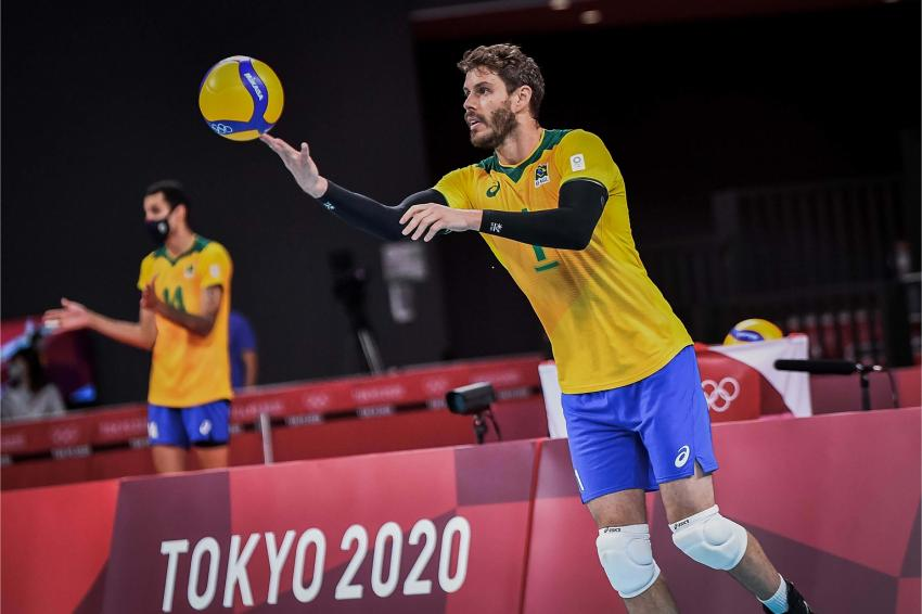 Capa da notícia - Tóquio: para Brasil, saque foi determinante na vitória sobre EUA