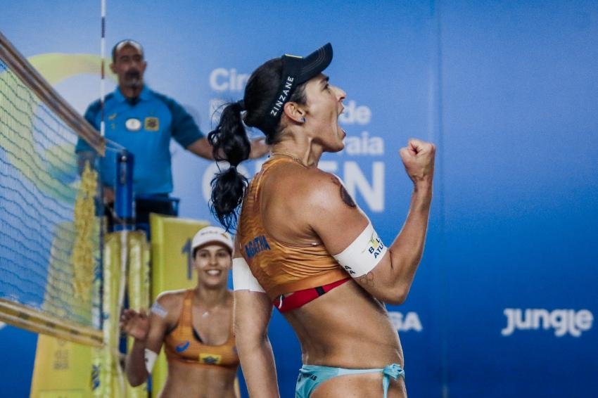 Capa da notícia - Circuito Brasileiro: Ágatha na expectativa da milésima vitória