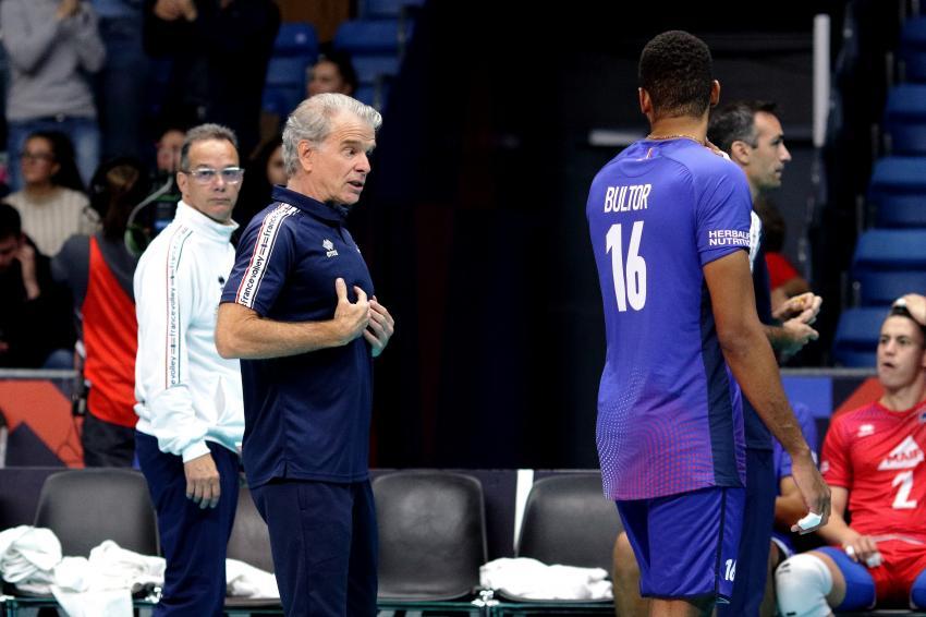 Capa da notícia - Com Bernardinho, França vence na estreia do Europeu