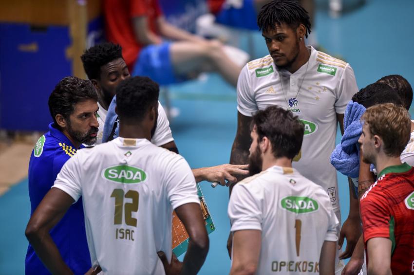 Capa da notícia - Estadual: invicto, Sada Cruzeiro busca vaga na decisão