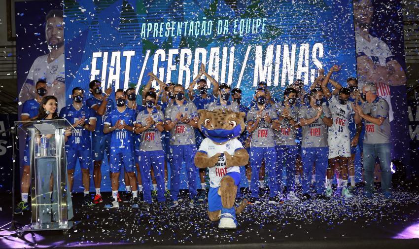 Capa da notícia - Fiat/Gerdau/Minas apresenta oficialmente elenco