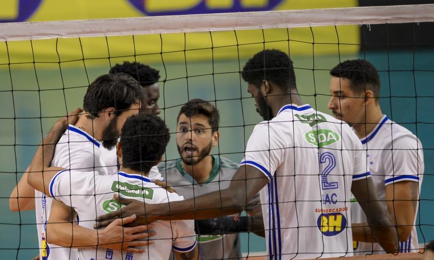 Capa da notícia - Sada Cruzeiro busca o treta na Supercopa