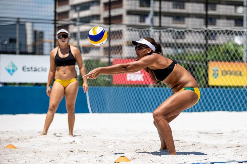 Capa da notícia - Tóquio: Ana Patrícia e Rebecca enfrentam quenianas na estreia olímpica