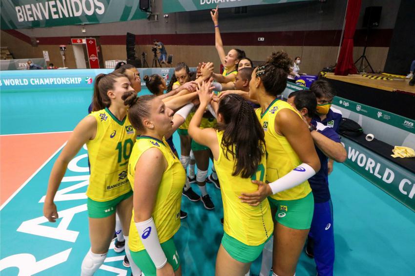 Capa da notícia - Mundial Sub-18: Brasil começa disputa com vitória