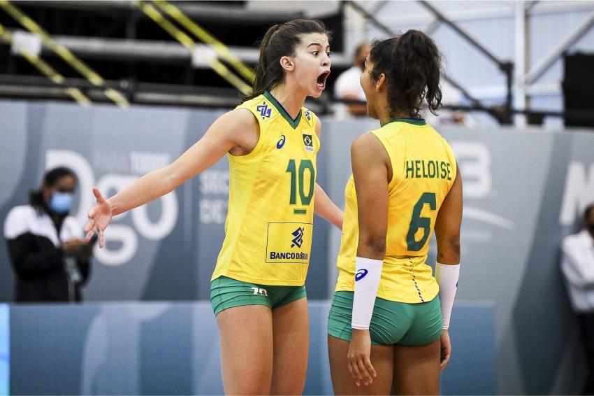 Capa da notícia - Mundial Sub-18: Brasil disputa quinto lugar
