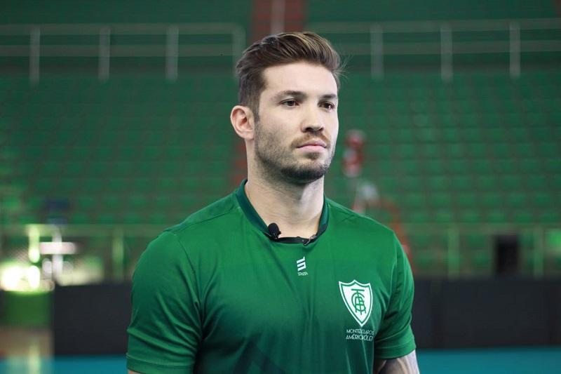 Capa da notícia - Ygor Ceará assume a faixa de capitão no América Vôlei
