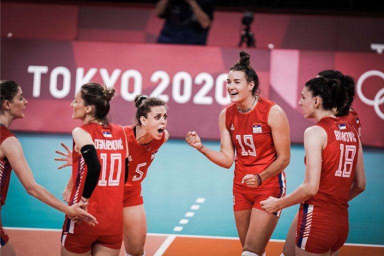 Capa da notícia -  Tóquio: Sérvia vence Itália por 3 a 0 e também está nas semifinais