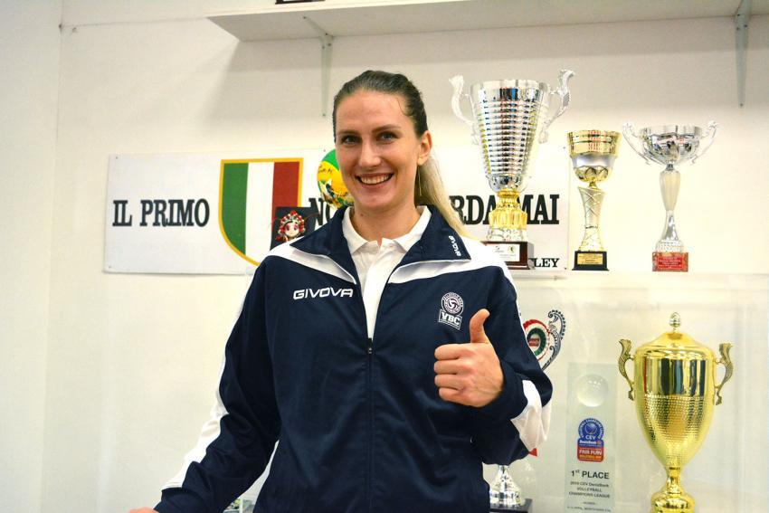 Capa da notícia - Polina Rahimova retorna ao Casalmaggiore
