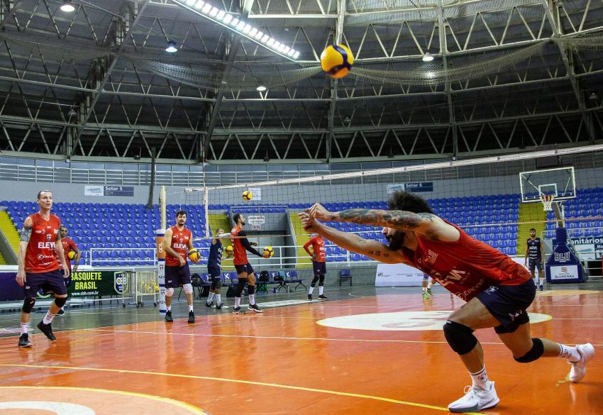 Capa da notícia - APAN/Eleva/Blumenau tem os primeiros compromissos da temporada