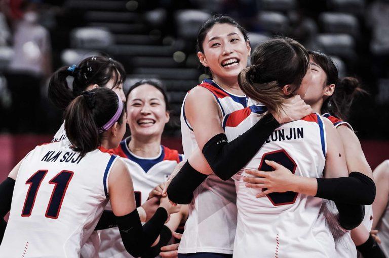 Capa da notícia - Tóquio: Coreia do Sul bate República Dominicana em duelo de cinco sets