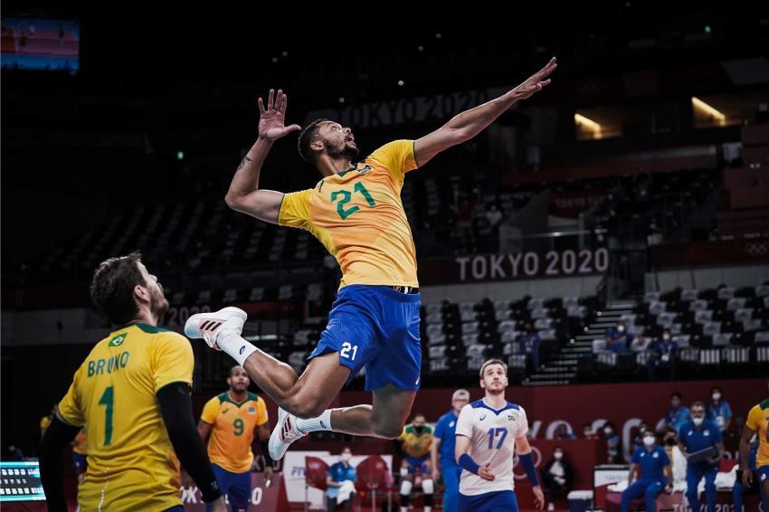 Capa da notícia - Tóquio: em virada espetacular, Brasil bate Argentina