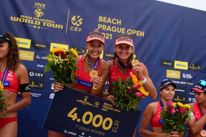 Capa da notícia - Circuito Mundial: Elize Maia e Thâmela conquistam etapa de Praga