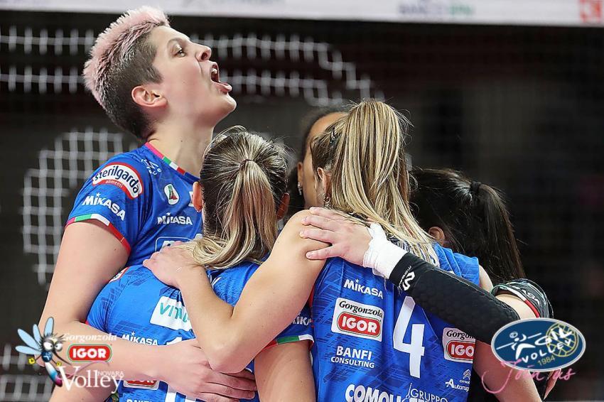 Capa da notícia - Itália: Novara bate Casalmaggiore em sets diretos