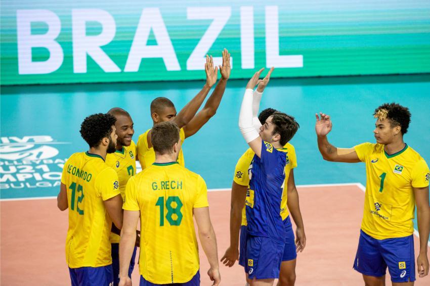 Capa da notícia - Mundial Sub-21: Brasil vence República Tcheca e fica em sétimo
