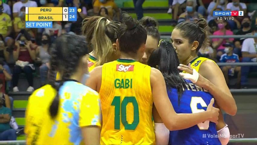 Capa da notícia - Sul-Americano: Brasil vence fácil na estreia