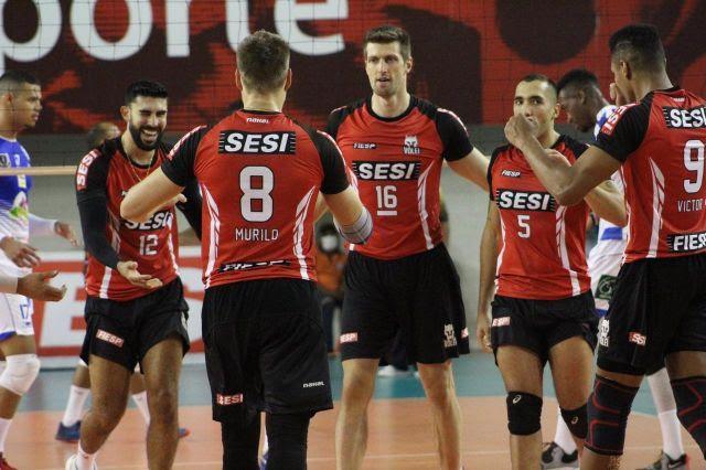 Capa da notícia - Sesi-SP enfrenta Climed/Atibaia no segundo jogo do Paulista