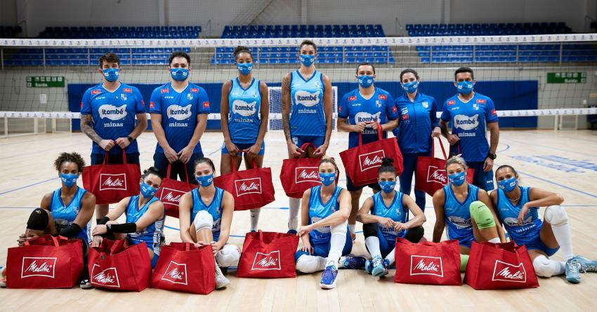 Capa da notícia - Itambé/Minas renova com patrocinador por mais duas temporadas