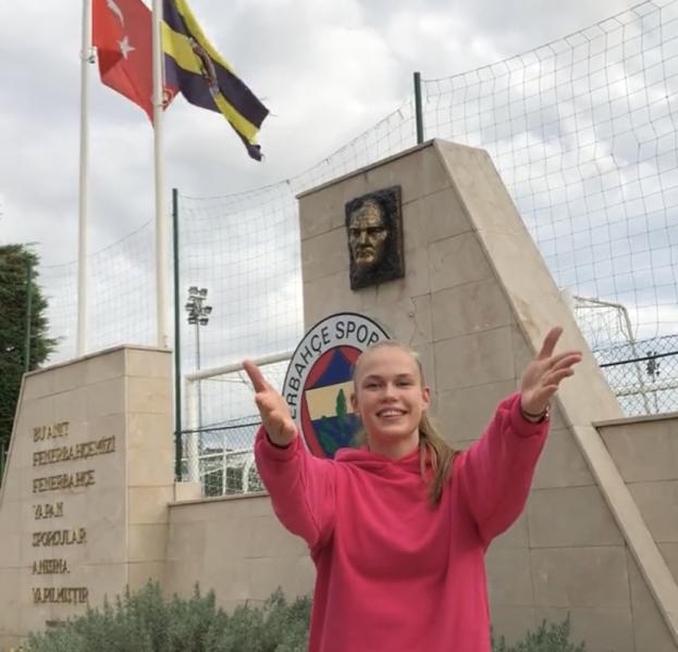 Capa da notícia - Turquia: Arina Fedorovtseva chega ao Fenerbahçe