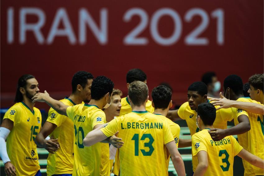 Capa da notícia - Mundial Sub-19: Brasil conquista primeira vitória