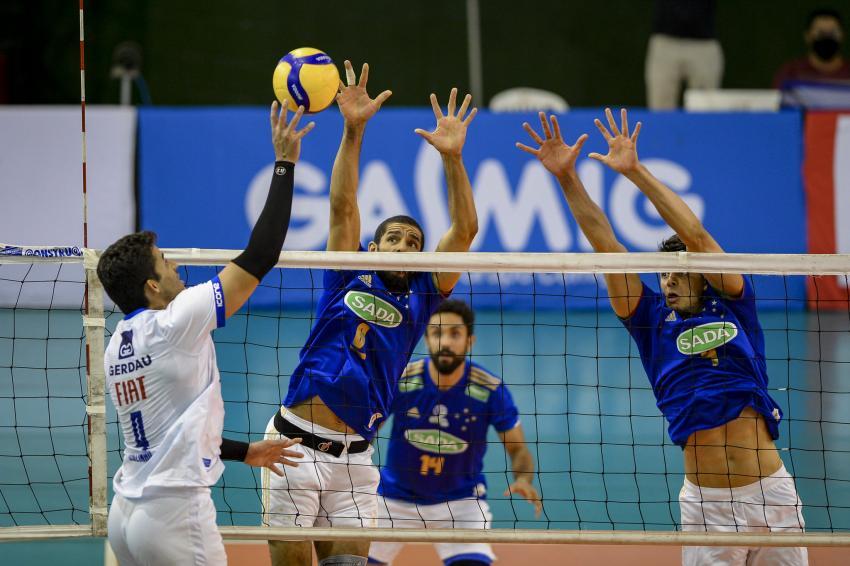 Capa da notícia - Sada Cruzeiro bate Fiat/Gerdau/Minas no tie-break