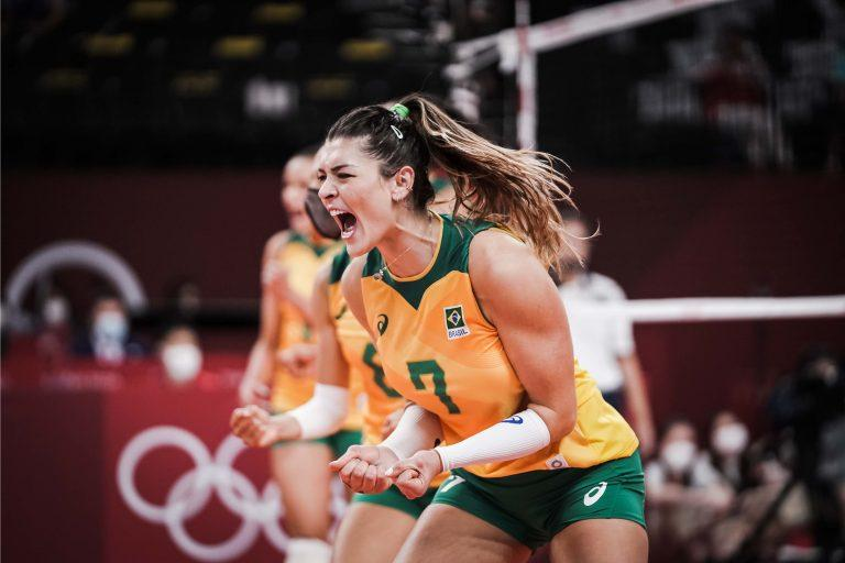Capa da notícia - Tóquio: entradas de Macris e Rosamaria levam Brasil à semifinal