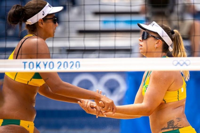 Capa da notícia - Tóquio: duplas das areias conhecem adversários das oitavas
