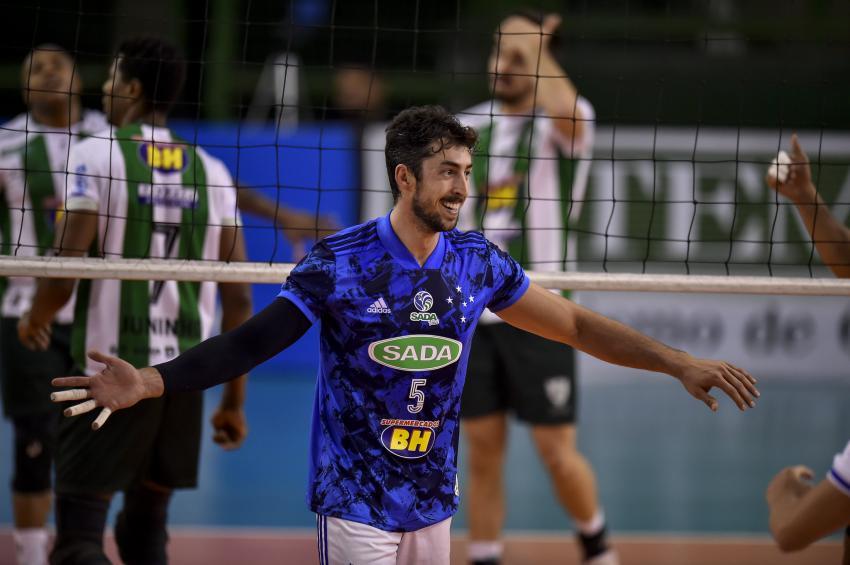 Capa da notícia - Pré-temporada: Sada Cruzeiro vence amistoso