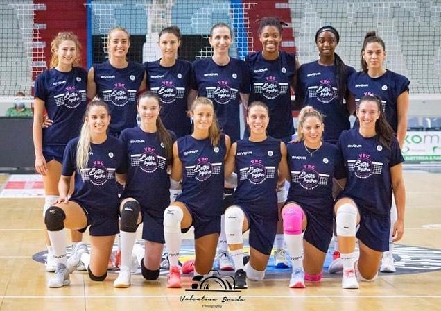 Capa da notícia - Itália: Ellen Braga disputa primeiro título no Casalmaggiore