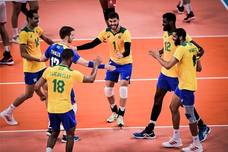 Capa da notícia - Tóquio: Entrada de Douglas Souza embala seleção brasileira à estreia vitoriosa no torneio