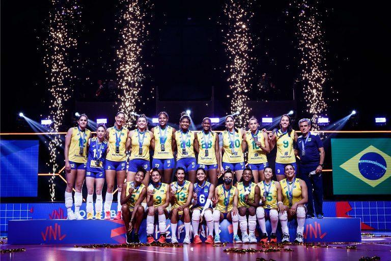 Capa da notícia - Brasil analisa vice-campeonato da Liga das Nações
