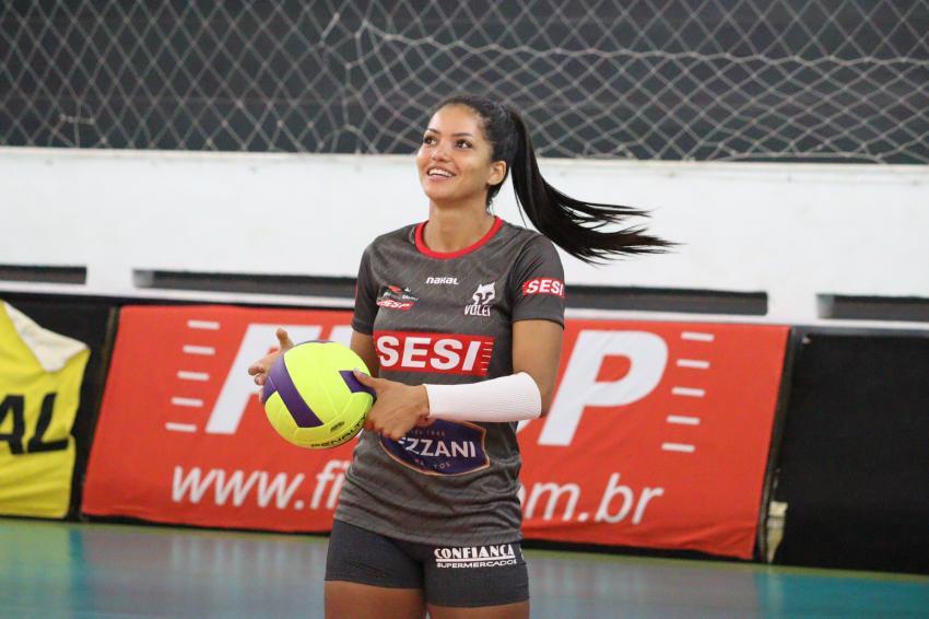 Capa da notícia - Nyeme e Mayany comemoram nova oportunidade na seleção brasileira