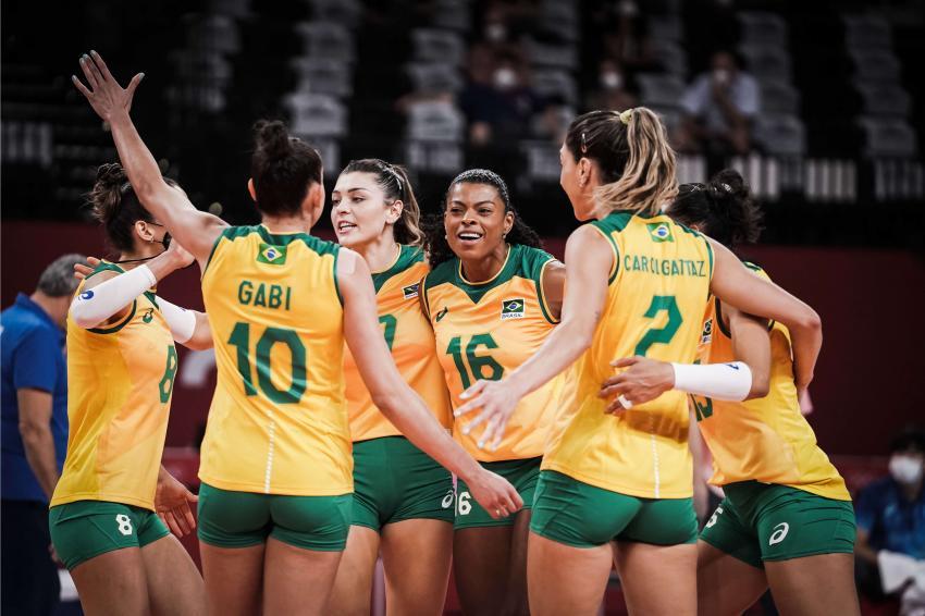 Capa da notícia - Tóquio: Muito concentrado, Brasil atropela a Coreia do Sul e está na grande final