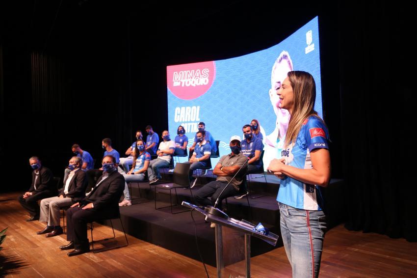 Capa da notícia - Minas faz homenagem aos atletas olímpicos