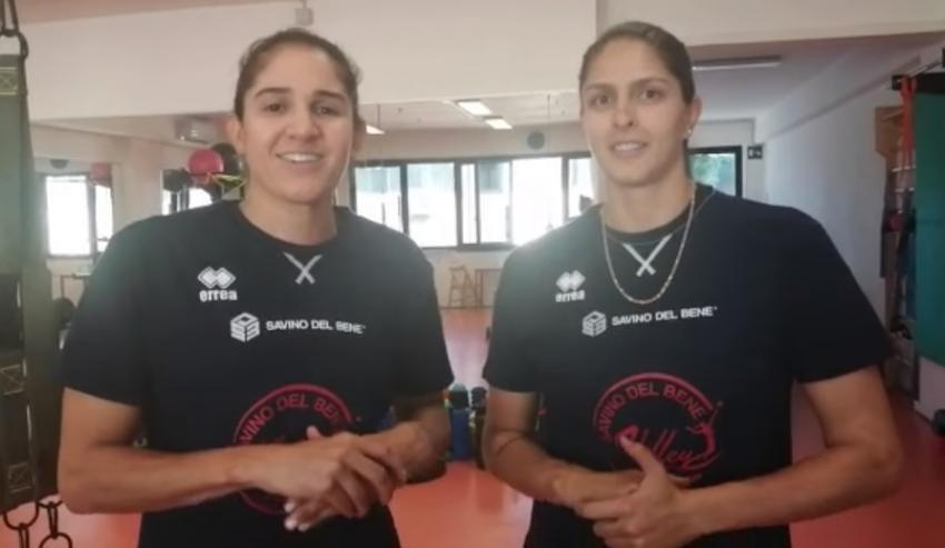 Capa da notícia - Itália: Natália e Bia chegam ao Scandicci