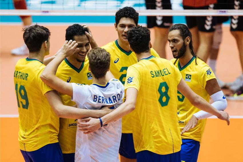 Capa da notícia - Mundial Sub-19: Brasil encerra participação em sétimo
