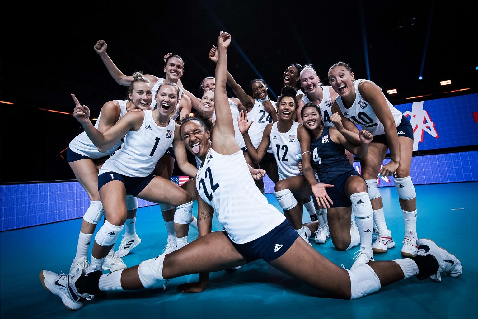 thumbnail do Álbum Liga das Nações 2021 - Semifinal 2: EUA 3 x 0 Japão