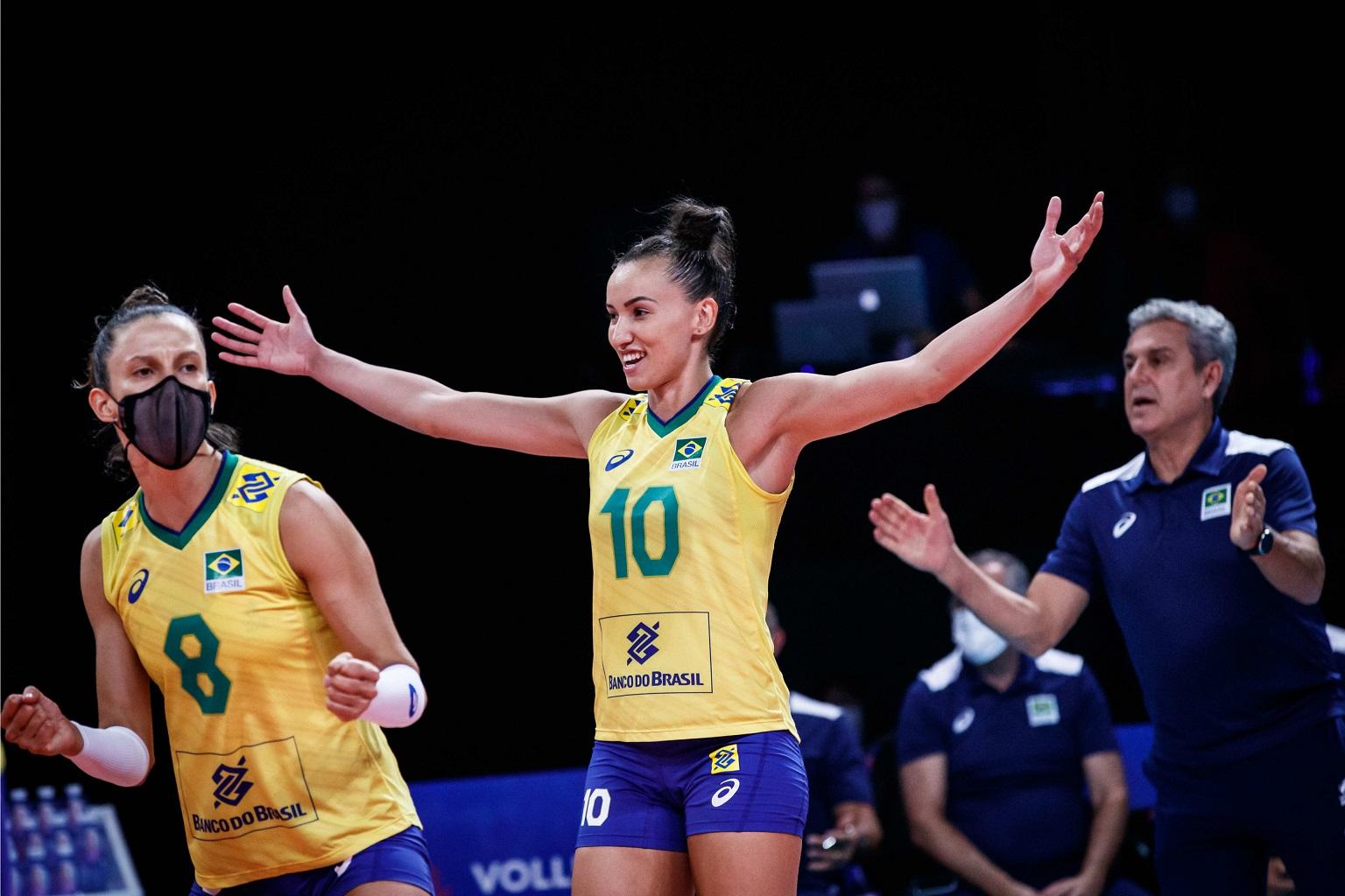 thumbnail do Álbum Liga das Nações 2021 - Semifinal 1: Brasil 3 x 1 Japão