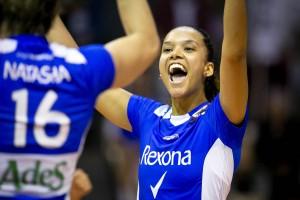Amanda diz que qualidade do Pinheiros motiva Rexona a treinar mais (Foto: Divulgação/DM7 Sports)