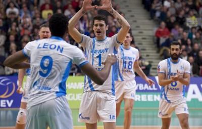 Anderson e León estão entre os melhores atacantes do mundo (Foto: Divulgação/CEV)