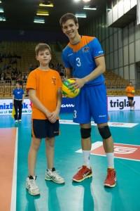 Murilo Radke está confiante em continuar na Champions (Foto: Divulgação Budva)