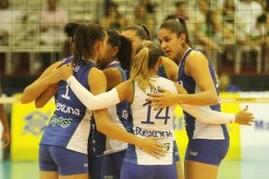 Rexona ainda não perdeu na Superliga feminina (Foto: Divulgação/CBV)