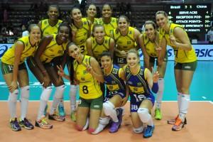 No feminino, Brasil tentará terceiro ouro olímpico seguido; no masculino, meta é igualar títulos de 1992 e 2004 (Foto: Divulgação/FIVB)