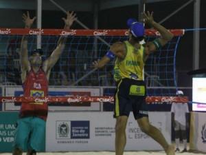 Brasil deu show no primeiro dia de disputas (Foto: Divulgação/CBV)
