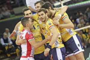 Modena soma 14 vitórias em 16 jogos do Italiano (Foto: Facebook/Modena)